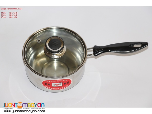 SINGLE-HANDLE MILK PAN