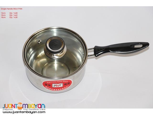 SINGLE-HANDLE MILK PAN