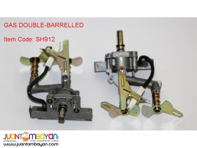 GAS DOUBLE-BARRELLED