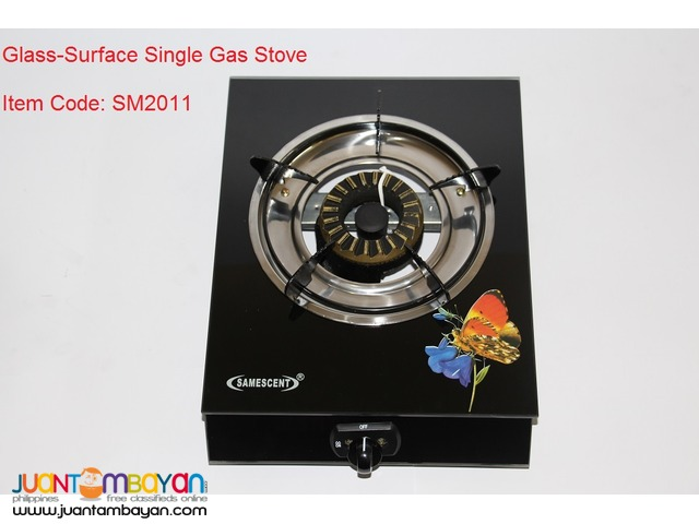 GLASS-SURFACE SINGLE GAS STOVE