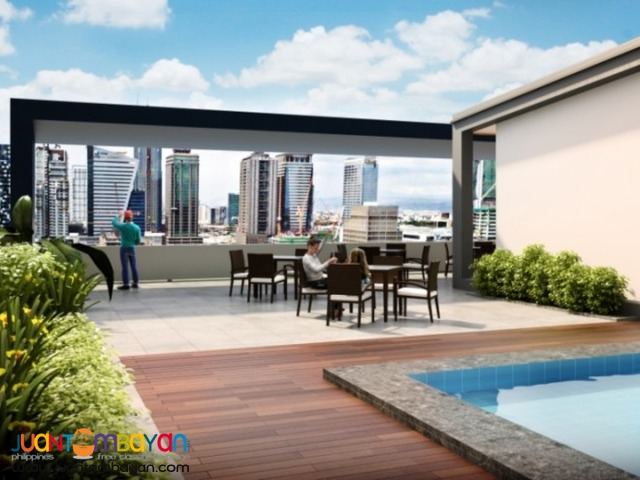 Avida Towers Turf BGC 1 BR wid balcony for sale Bonifacio Global City