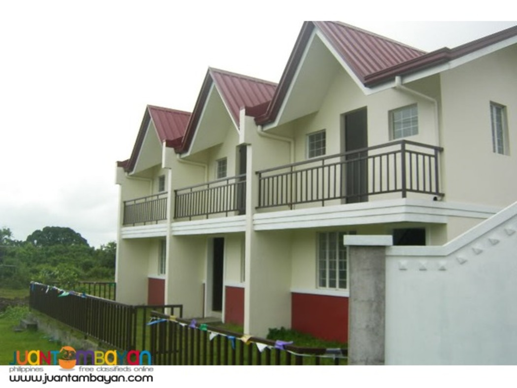 No Downpayment townhouse for sale at Cabuco Trece Martires