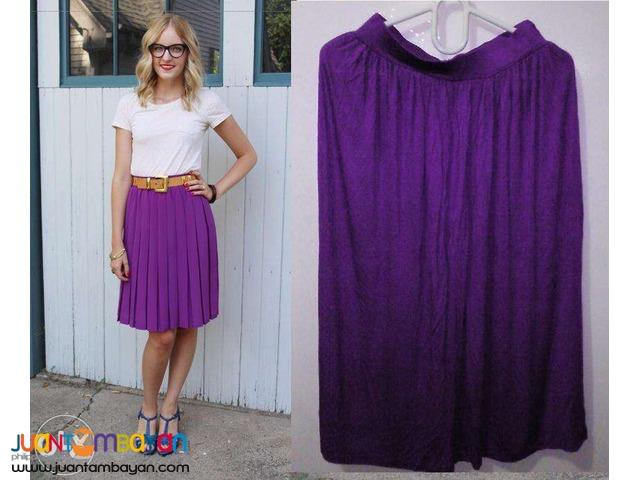 Purple Loose Skirt