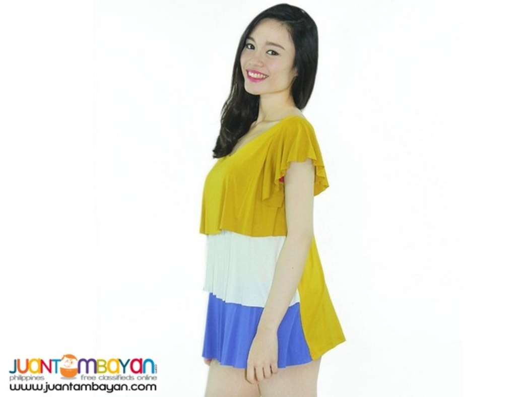 TIERED BLOUSE Reference: AU368A