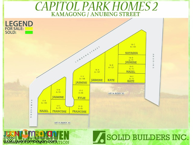 House and Lot in Capitol Park Homes 2