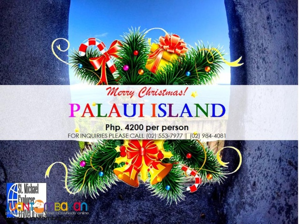 PALAUI TOUR PACKAGE