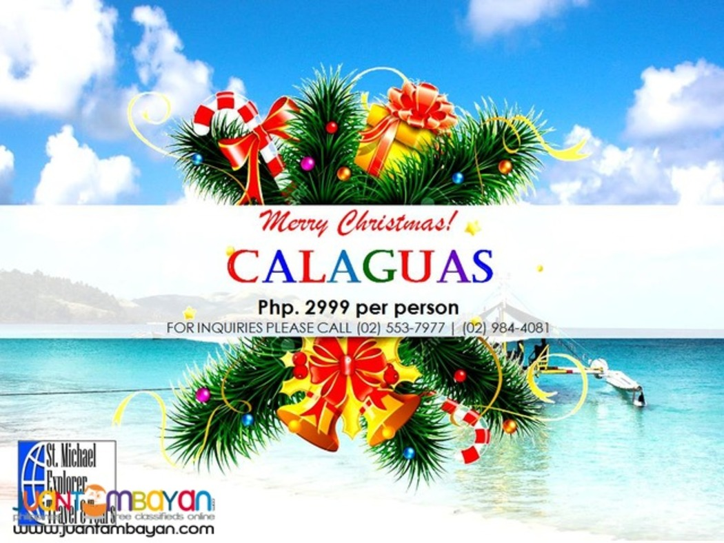 CALAGUAS TOUR PACKAGE