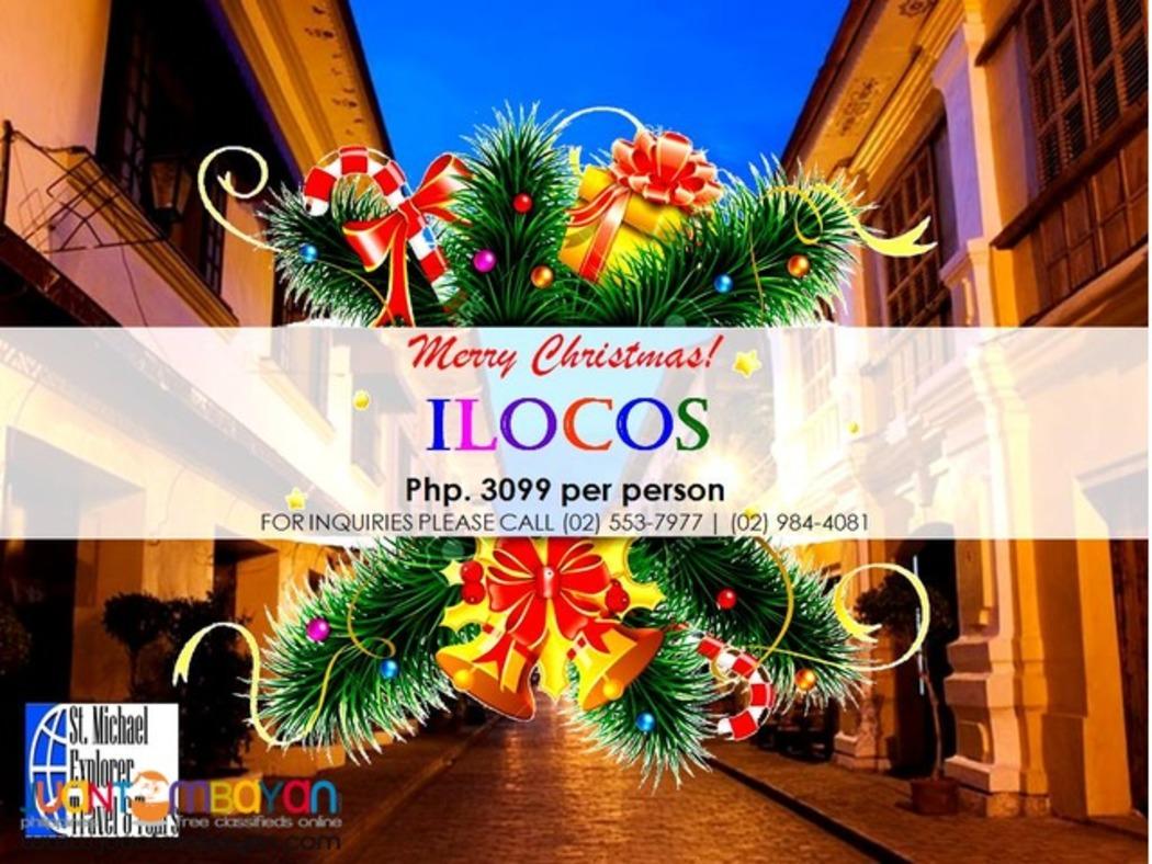ILOCOS TOUR PACKAGE