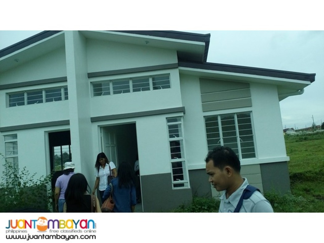 57-sq.m duplex complete type house and lot for sale at Cabuco Trece