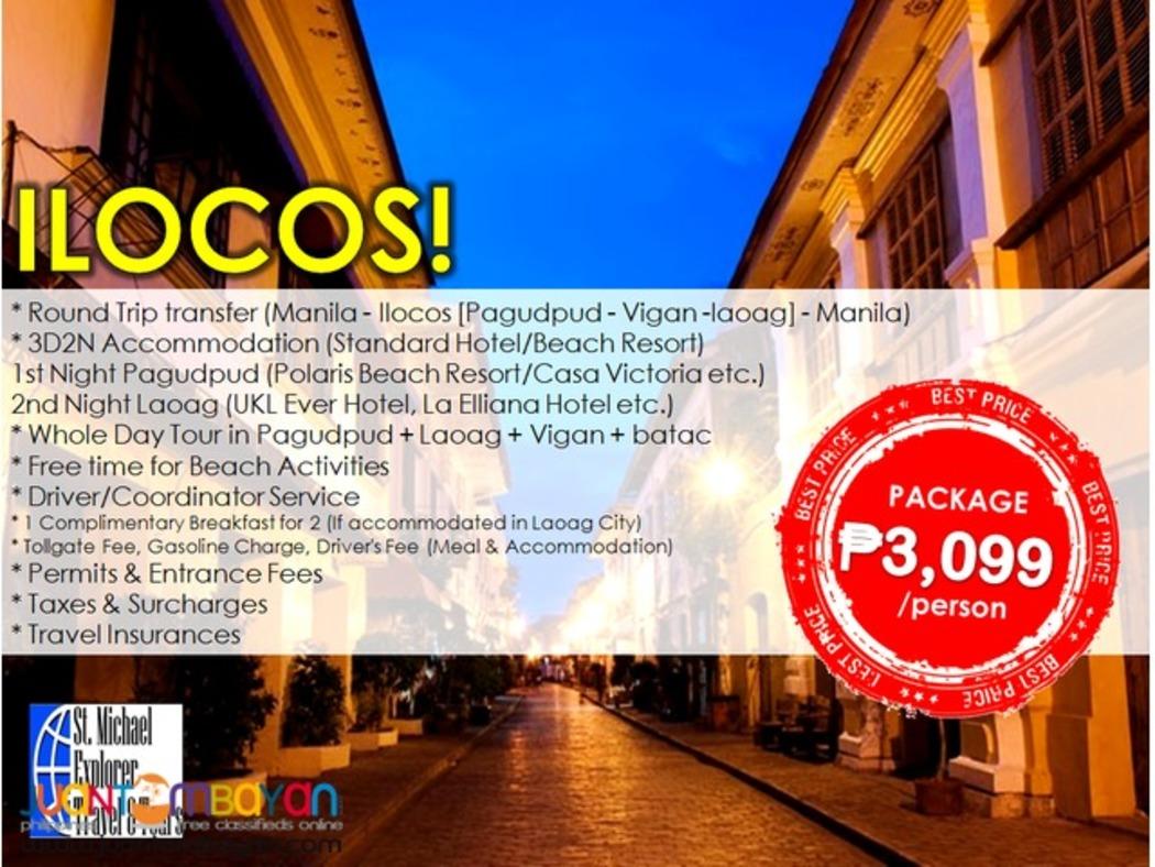 Affordable ILOCOS SUR & ILOCOS NORTE 3D2N