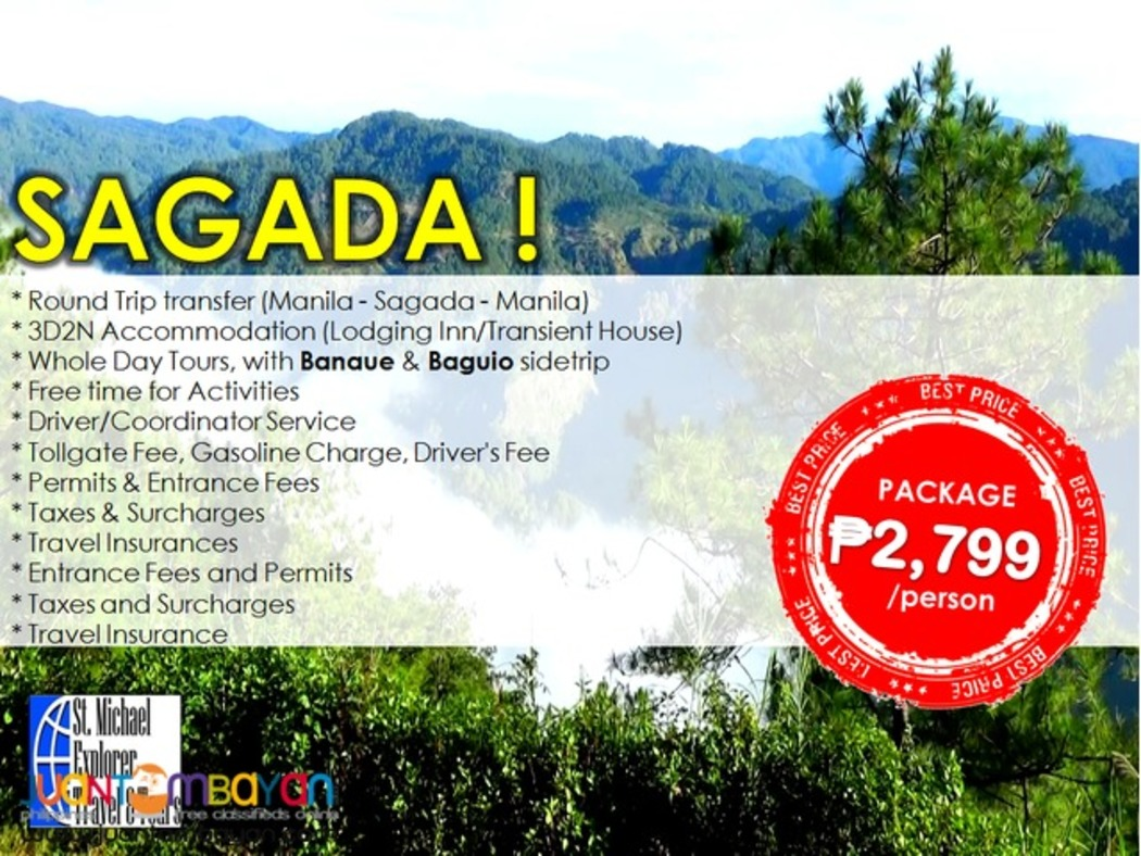 Affordable SAGADA (via BANAUE & BAGUIO) 3D2N