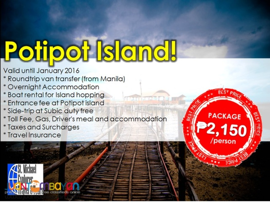 Affordable POTIPOT ISLAND 2d1n