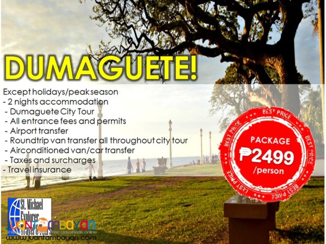 Affordable DUMAGUETE 3d2n