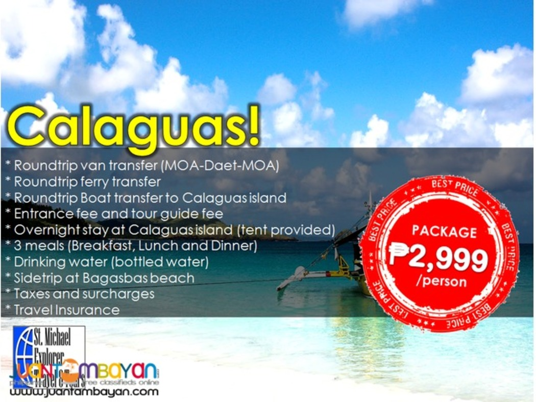 Affordable CALAGUAS ISLAND 2D1N