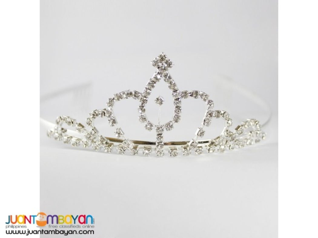 Headband With Stone Crown Design