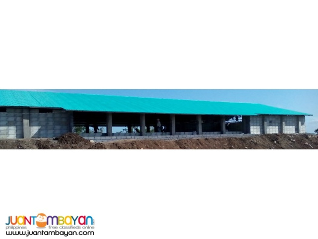 Tunnel Ventilated Poultry House Construction