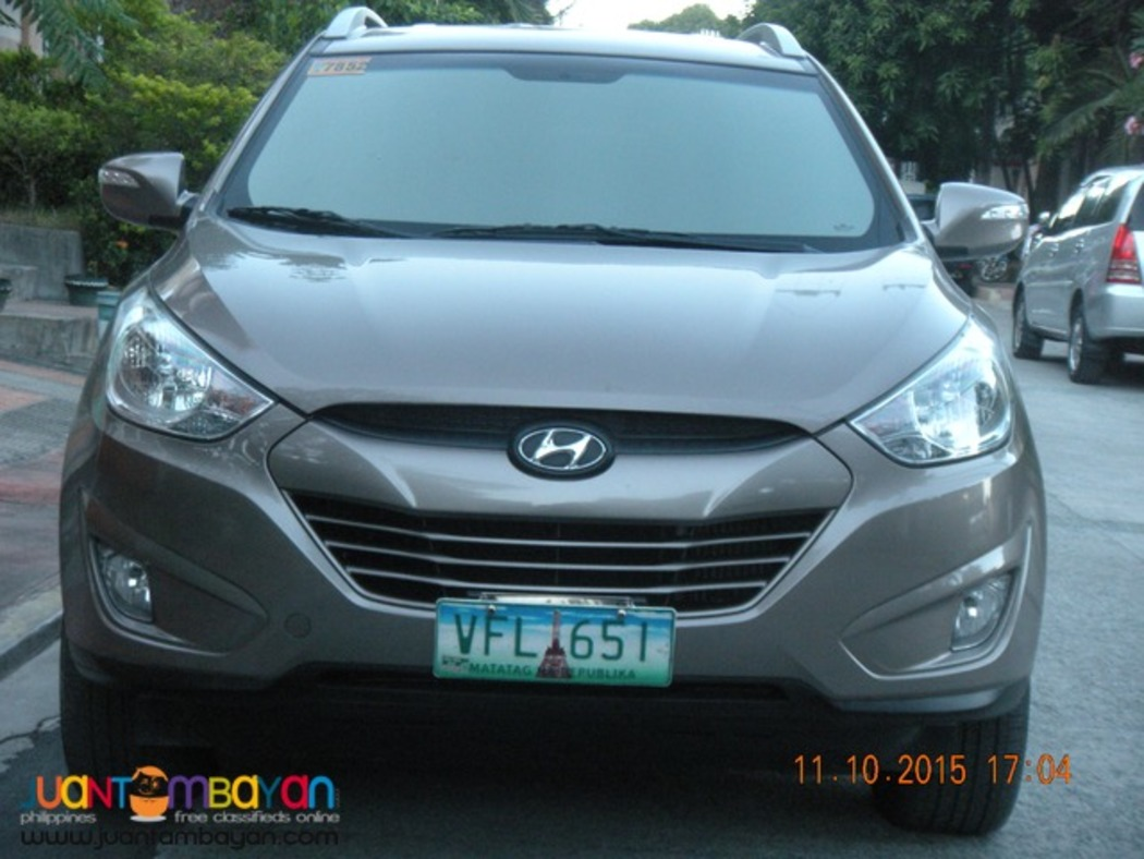 2013 hyundai tucson 4wd (top of d line) automatic diesel rush