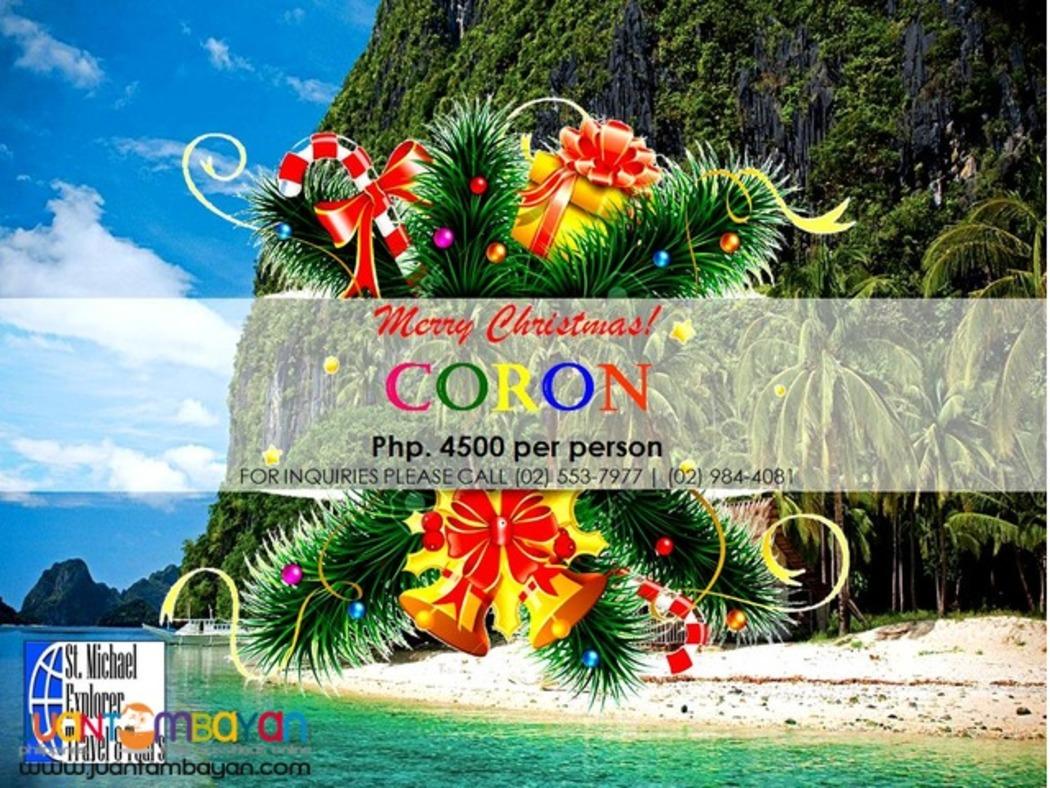 CORON TOUR PACKAGE
