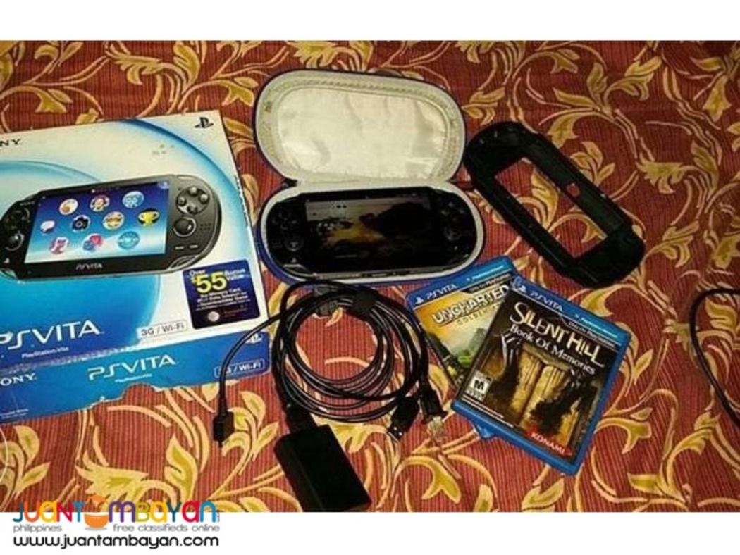 PS Vita Phat with Box