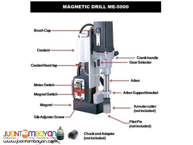 UDT Magnetic Drill - Made in Taiwan