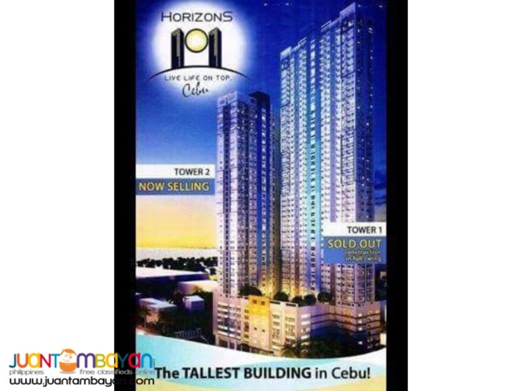 Affordable Condo For Sale . HORIZONS 101