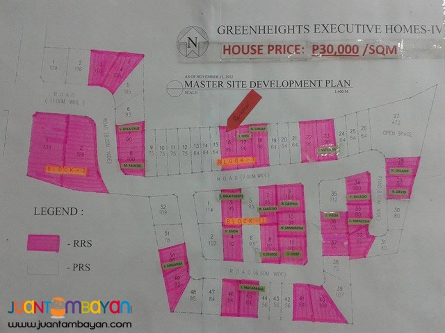 House and Lot in Greenheight Executive Homes 4