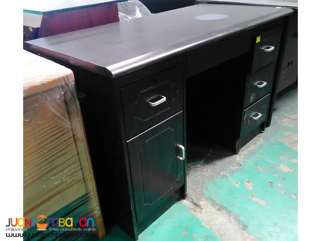 double pedestal desk