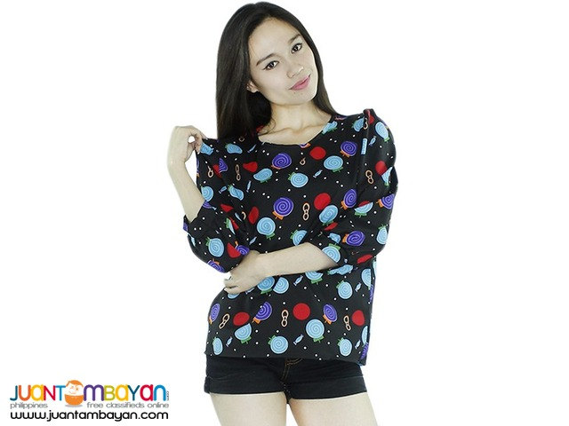 ABSTRACT PULLOVER  Reference: TU051