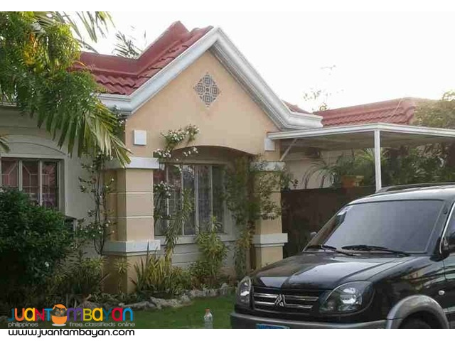 For Rent Furnished House in Lapu-Lapu City Cebu - 2 Bedrooms