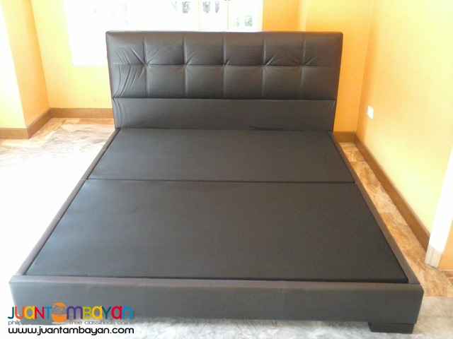 Imported German Leather Luxury Queen-size Bed Frame BRAND NEW