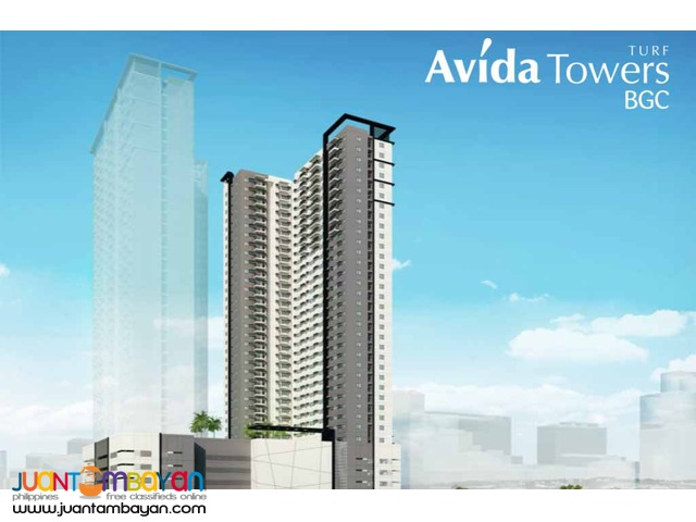 2 bedroom for sale in Bonifacio Global City Avida Towers Turf BGC