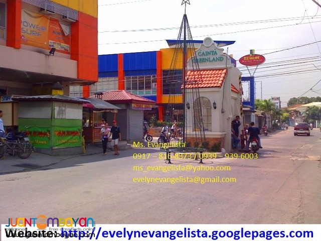 Res. lot for sale in Bonifacio Cainta Rizal Cainta Greenland