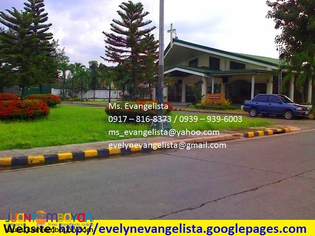 Res. lot for sale in Maybunga Pasig City Parkwood Greens