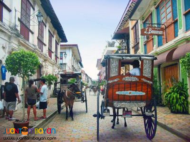 Ilocos tour package, Vigan tour and overnight