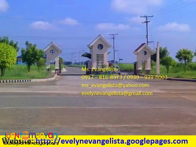 Res. lot for sale in Cabanatuan City The Villages at LAKEWOOD CITY