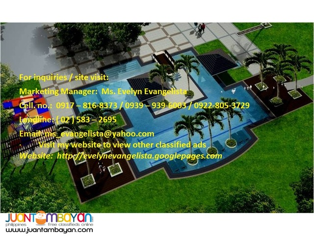 Res. lot for sale in Sto. Tomas Batangas The Mango