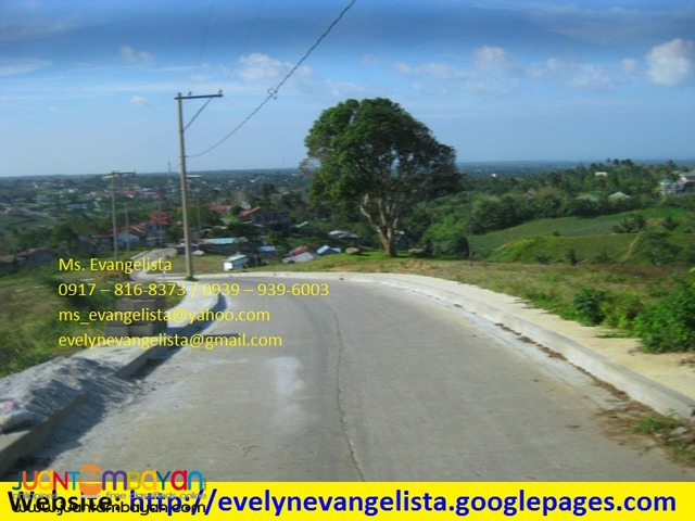 Res. lot for sale in Tagaytay City Villa Chiara