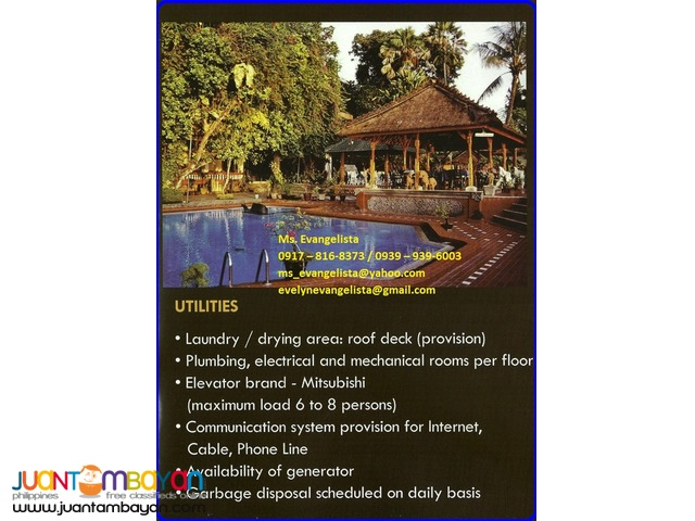 Condominium in Bali Garden Residences 1 Bedroom