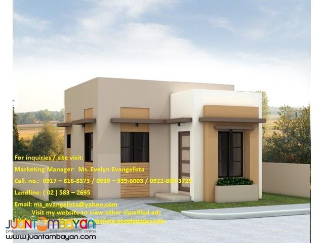 House and lot in Ponte Verde Sta. Ana Model