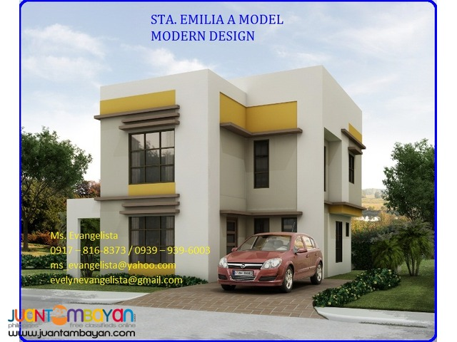 House and lot in Ponte Verde Sta. Emilia Model