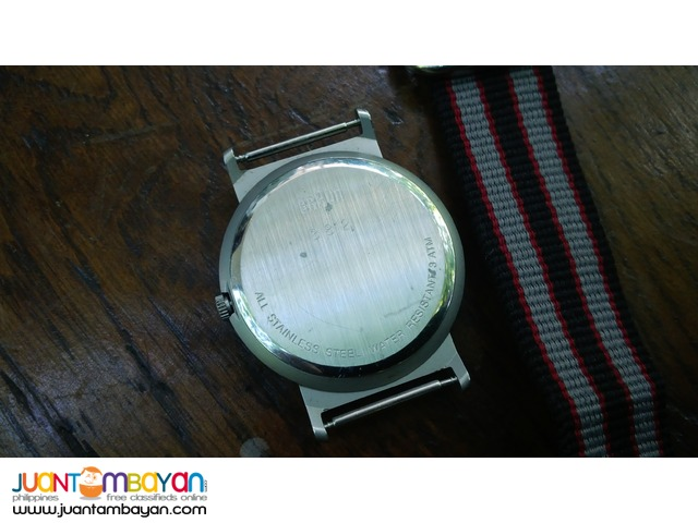 Authentic BRAUN Minimalist HARTWEIN Design Wrist Watch