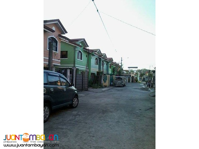 12 Mos. to pay Downpayment Townhouse in Quezon City 3 Bedrooms