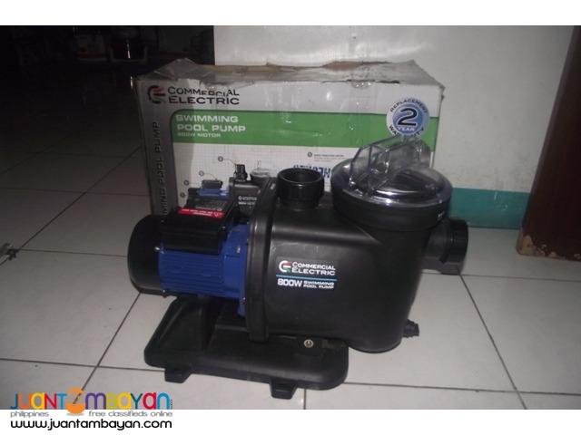 swimming pool pump 220v 800wats brandnew