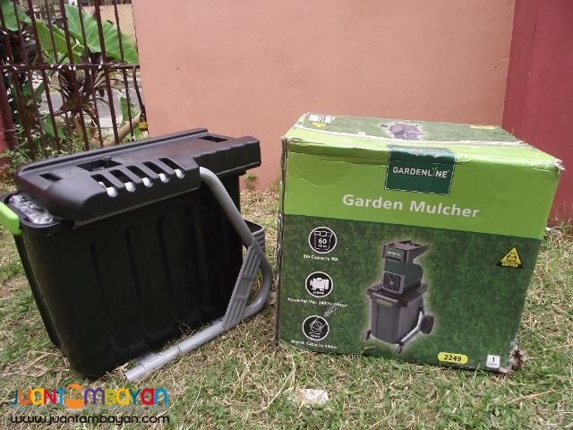Mulcher shreader 220v 2400wats brandnew