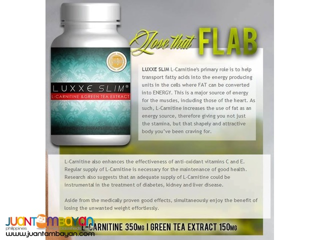 Luxxe Slim L-Carnitine and Green Tea Extract