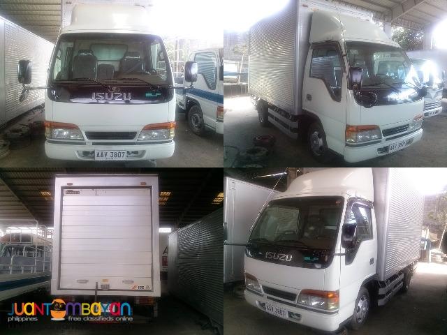 Aluminum Van NKR71G-4HG1 12.7feet
