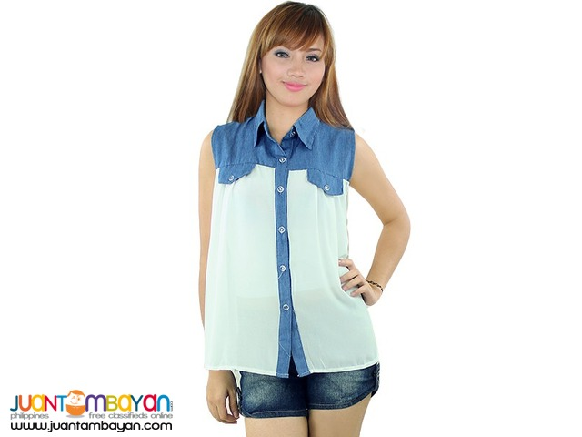 SLEEVELESS TOP  Reference: NU126