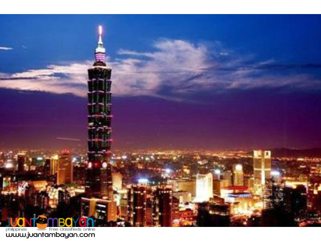 Taipei Taiwan Tour Package, 3 days 2 nights