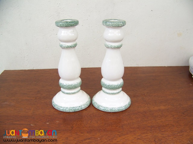 P1001 Ceramic Candle Holder Brand New Bought in USA