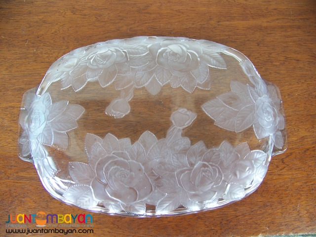 P1009 Crystal Food Tray